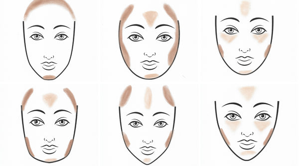 How To Contour According To Your Face Shape