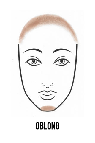 How To Contour An Oblong Face
