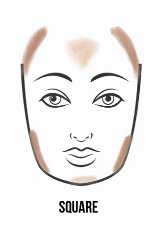 How To Contour A Square Face