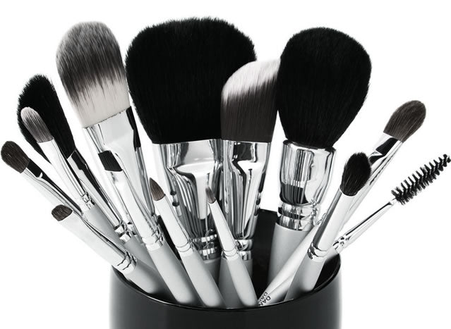 How to clean makeup brushes by Daniel Sandler