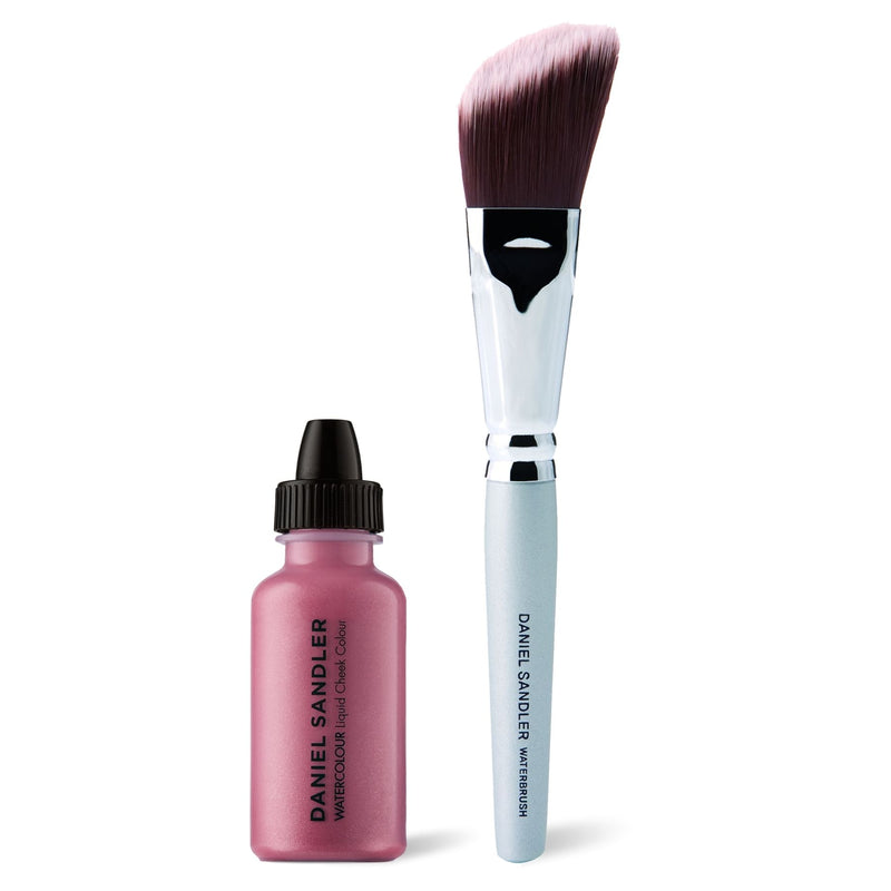 Daniel Sandler Watercolour Liquid Cheek Colour & Waterbrush Duo - So Pretty Swatch