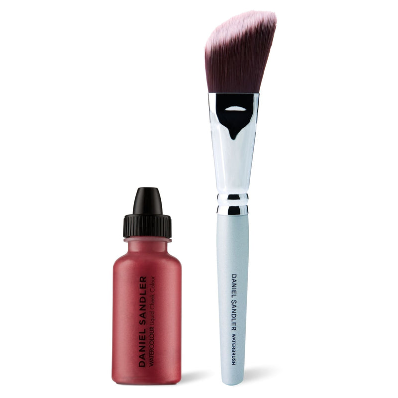 Daniel Sandler Watercolour Liquid Cheek Colour & Waterbrush Duo - Tease