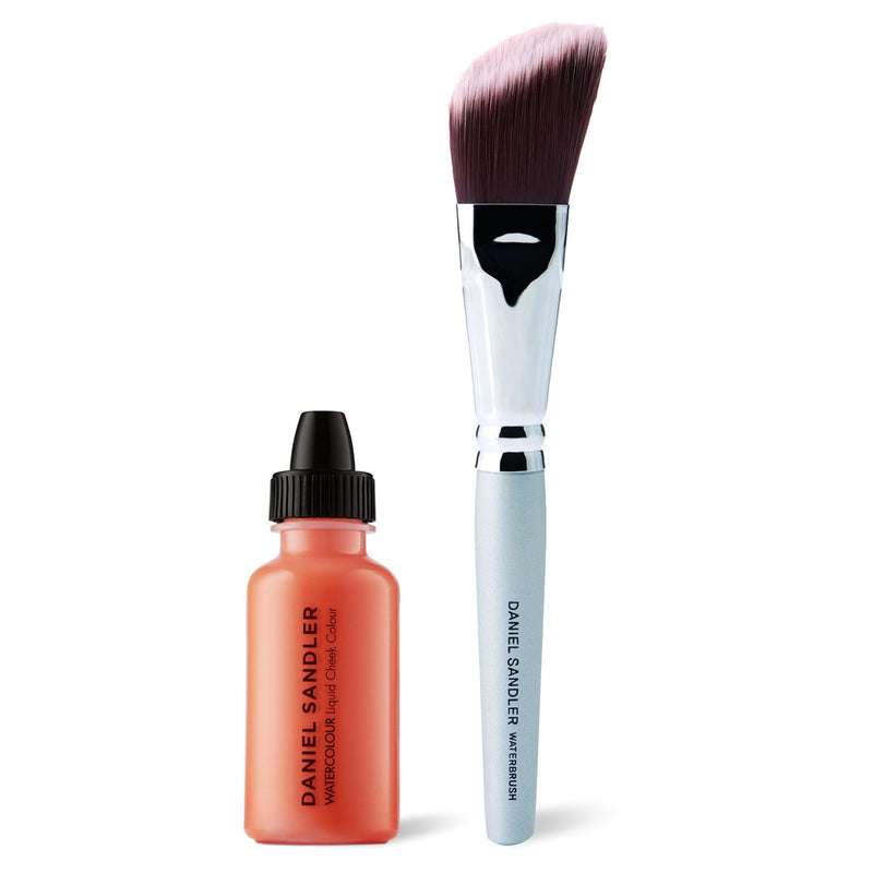 Daniel Sandler Watercolour Liquid Cheek Colour & Waterbrush Duo - Crush
