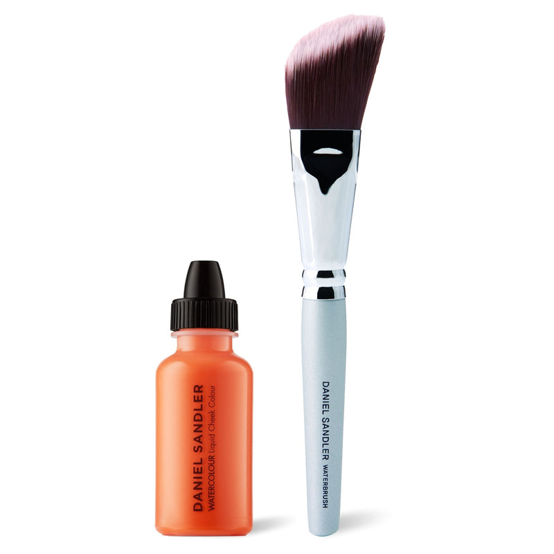 Daniel Sandler Watercolour Liquid Cheek Colour & Waterbrush Duo - Trip
