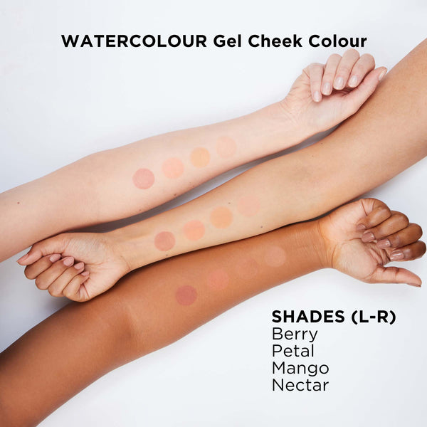 Watercolour Gel Blush Swatches