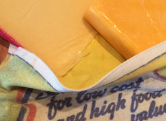 Serve Cheese For Low Cost and High Food Value Linen Gift Bag