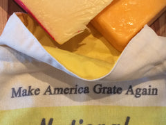 National Cheese Week Make America Grate Again Linen Gift Bag
