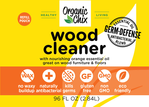 Organic Chix Wood Floor and Surface Cleaner