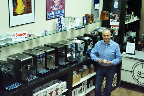 Luciano Iarusso, Owner, Espresso Machine Experts