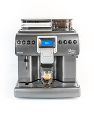Saeco Royal One Touch Cappuccino Espresso Machine available at Espresso Machine Experts