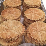 Pizzelle- Italian Waffle Style Cookies