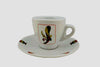 Italian Playing Cards Espresso Cups-Set of 6