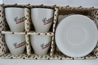 set of cappuccino cups