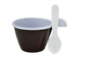 Plastic Espresso Cups with Handle 3oz.by Darnel (sleeve of 25)