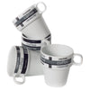 Stackable Cappuccino Cups