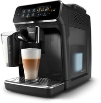 Refurbished Philips Saeco 3200 Series Superautomatic Espresso Machine LatteGo Black EP3241/54