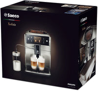 Box of Refurbished Saeco Xelsis Superautomatic Espresso Machine SM7684/04 ⎮Stainless Steel