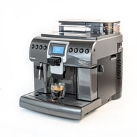 Sideview of the Saeco Royal One Touch Cappuccino