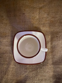 Set of 4 hand painted Espresso Cups