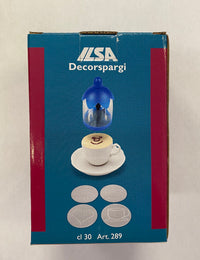 Ilsa Blue Cappuccino Duster ideal for decorating Cappuccino or Desserts
