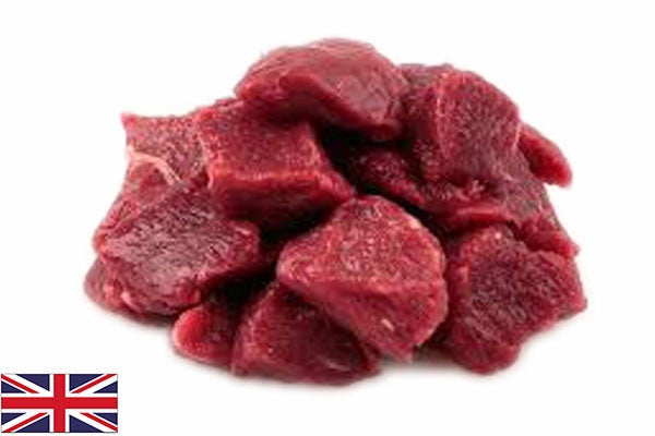 Fresh Beef Steak DICED - (500g pack)