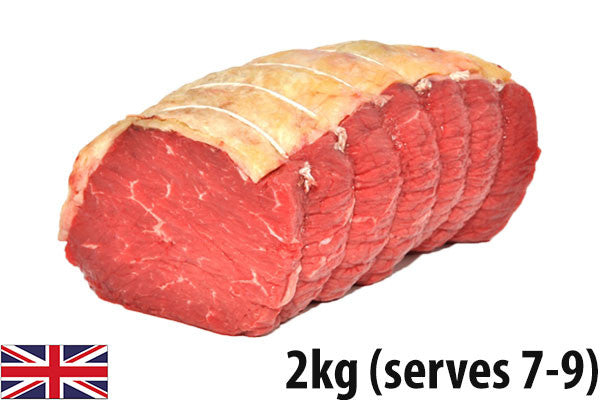 Fresh Beef Topside Roasting Joint - (2kg - Serves 7-9)