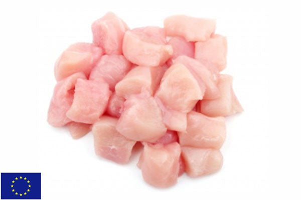 Fresh Chicken Fillet DICED - (1kg pack)
