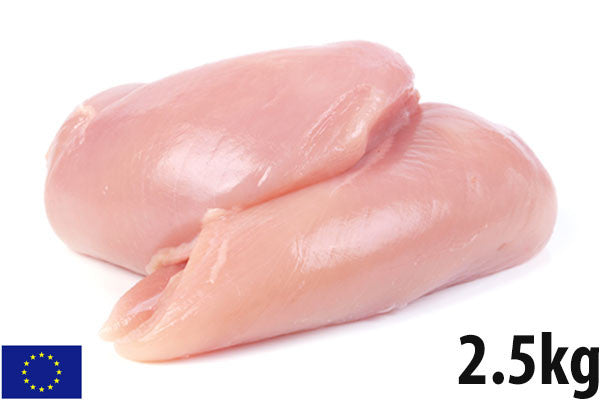 Fresh Chicken Fillets - 2.5kg Tray (10-12 fillets)