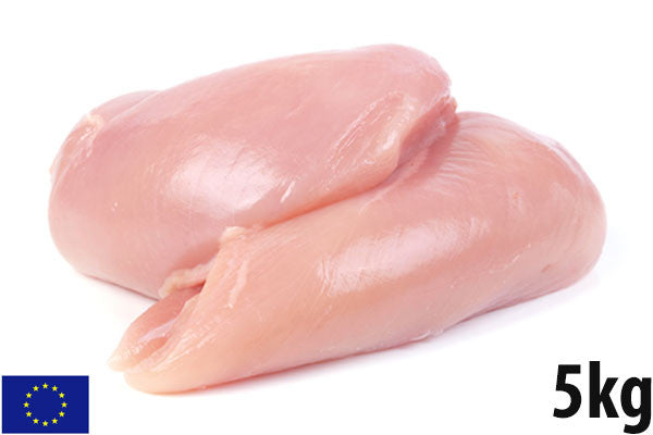 Fresh Chicken Fillets - 5kg Tray (20-25 fillets)