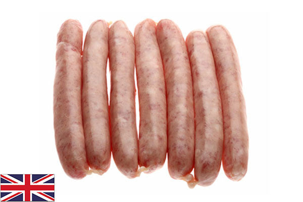 Fresh Pork Chipolata Sausages - 95% - (8 per 325g pack)