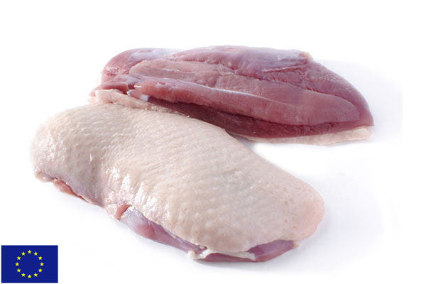 Frozen Duck Breast Fillets - 500g twin pack (2 per pack)