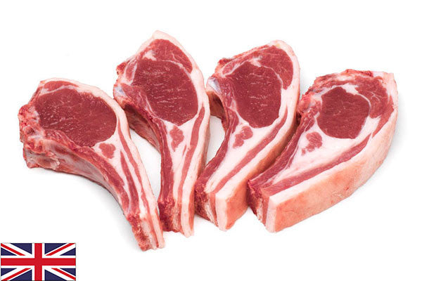 Fresh Lamb Chops - (8 per 880g pack = 110g/4oz each)