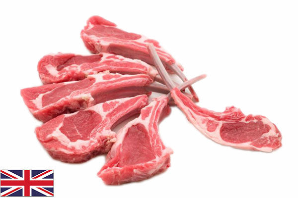 Fresh Lamb Cutlets - (8 per 920g pack = 115g/4oz each)