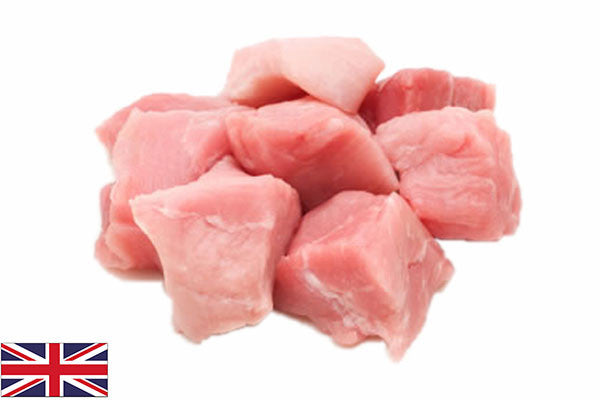 Fresh Pork DICED - (1kg pack)