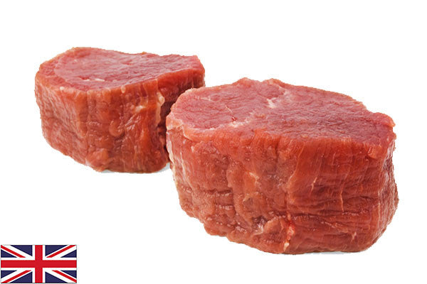 Fresh Beef Fillet Steaks 700g Pack (4 per Pack = 175g each)