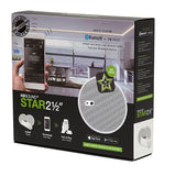 "KBSound STAR BT Amplifier + Two 2.5"" speakers (White)"