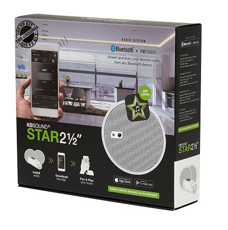 KBSound STAR BT Amplifier + Two 2.5