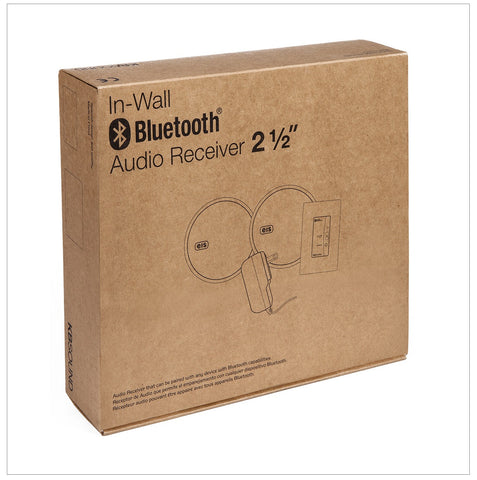 In wall bluetooth speakers & audio receiver