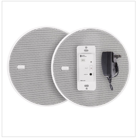 In Wall Speakers With Bluetooth Audio Receiver