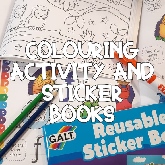 Colouring, Activity and Sticker Books