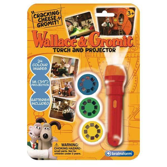 Wallace & Gromit Torch and Projector