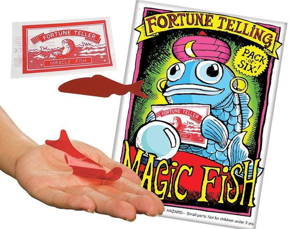 Fortune Telling Magic Fish (pack of 6)