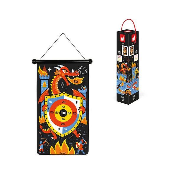 Janod Magnetic Dart Game Dragons