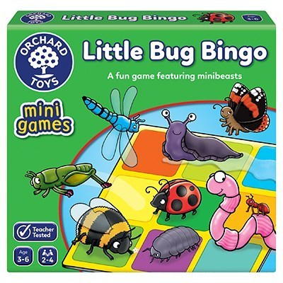 Orchard Mini Little Bug Bingo