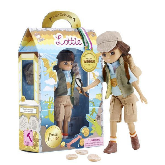 Lottie Doll Fossil Hunter