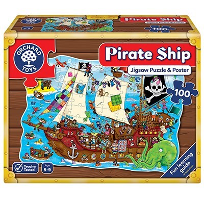 Orchard Pirate Ship Floor Puzzle
