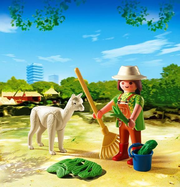 *4944, Playmobil Egg, Zookeeper with Alpaca