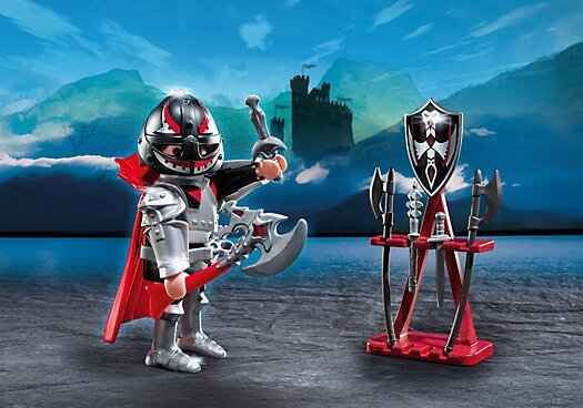 Playmobil *Knight with Weapon Stand 5409