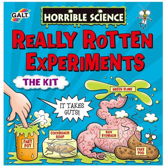Horrible Science, Really Rotten Experiments