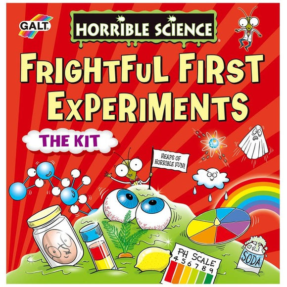 Horrible Science Frightful First Experiments